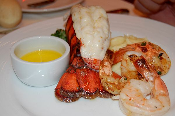Some of the yummy food on the Carnival Dream