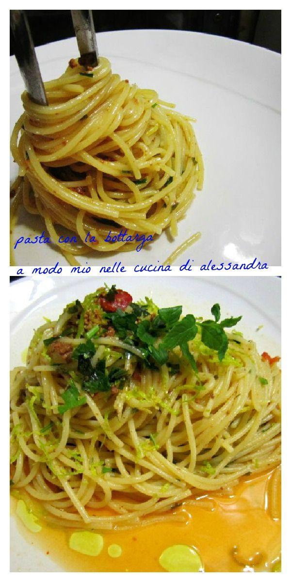 Ricetta spaghetti alla bottarga – a modo mio