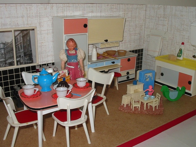310 best mobilier vintage images on pinterest doll houses dollhouses and dollhouse furniture. Black Bedroom Furniture Sets. Home Design Ideas