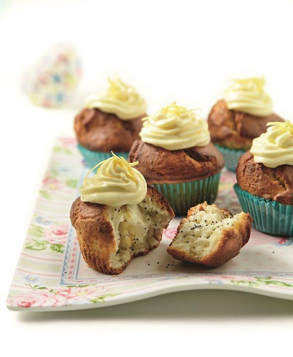 Cupcakes λεμονιού με παπαρουνόσπορο | olivemagazine.gr | Bloglovin'