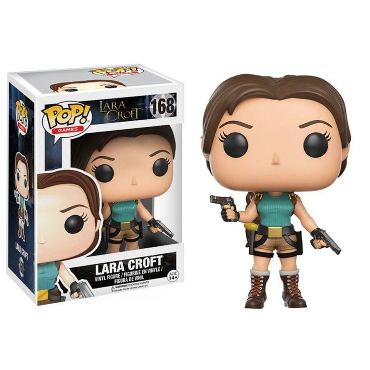 Foto 1 - Lara Croft Tomb Raider - Funko Pop! Games