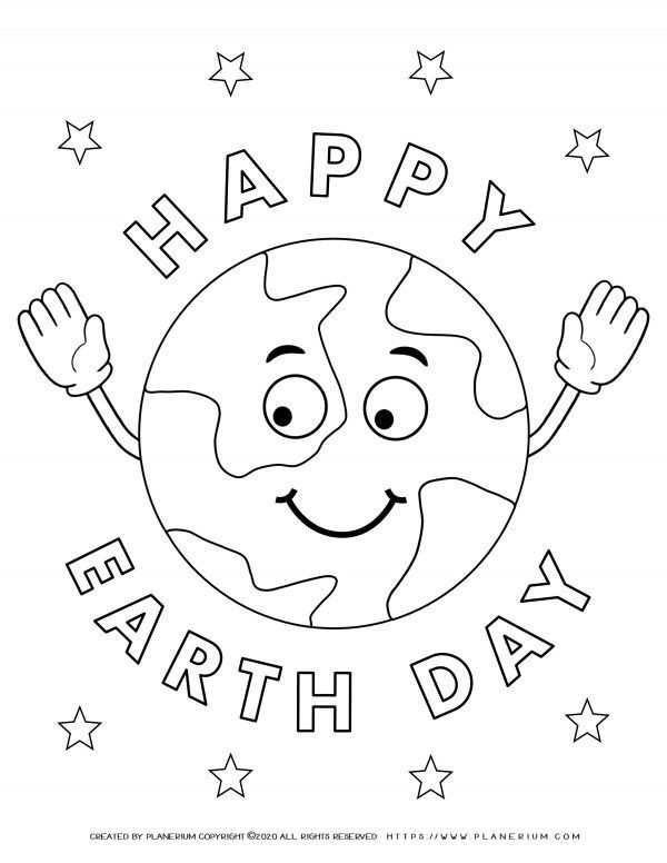 Best Teaching Resources For Earth Day 2021 Planerium Earth Day Coloring Pages Earth Day Worksheets Earth Coloring Pages