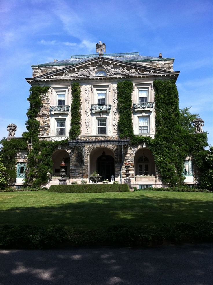 Rockefeller's Kykuit Estate in Sleepy Hollow, NY...