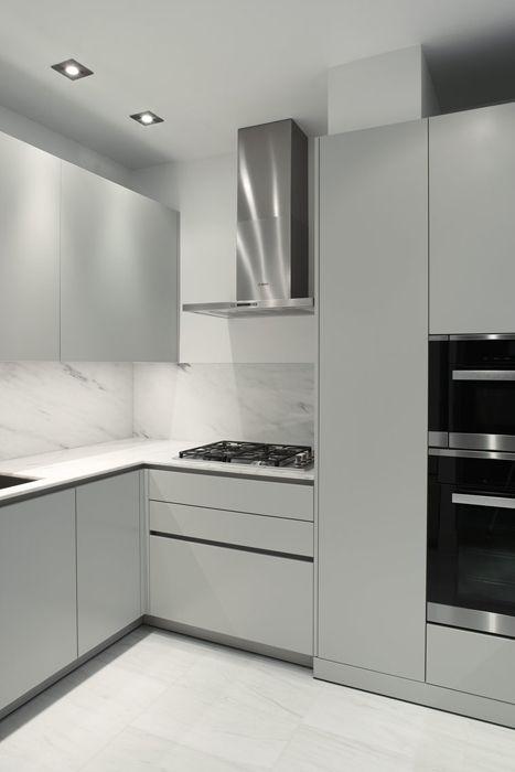 Magdalena Keck Interior Design - Park Avenue Apartment. cabinetry by Eggersman.