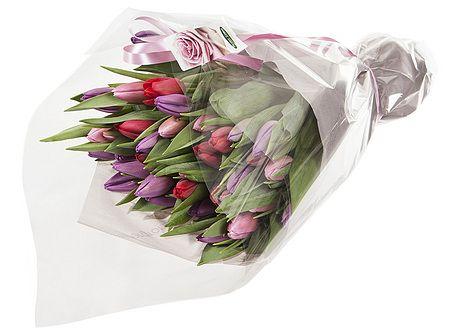 40 stk tulipaner i kalde farger gavepakket fra Mestergrønn. Om denne nettbutikken: http://nettbutikknytt.no/mestergronn-no/