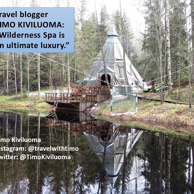 A spa at the wilderness teepee is an experience to remember.  Next to Nuuksio National Park there's Inipi Spa. In a middle of forest, hidden inside the huge teepee is a place for total luxury.  See more photos about Inipi spa and Nuuksio National Park at my blog (click the link at the bio). #inipispa #spa #sauna #luxury #spagram #health #beauty #beautiful #fit #nationalparks #nuuksionationalpark #nuuksio #espoo #helsinkisecret #teepee #instaluxury #instaluxus #timokiviluoma #travelblogger…