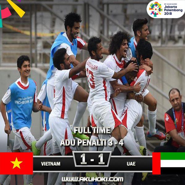 Hasil Final Sepakbola Asian Game 2018 Menang Adu Penalti Uae Juara Tiga Dengan Skor Akhir 1 1 Adu Penalti 3 4 Add Wa 85588 Juara Sepak Bola Vietnam