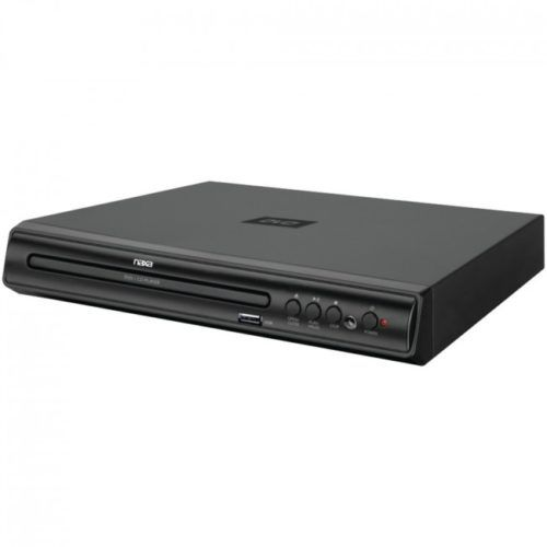 NAXA ND856 High-Resolution 2-Channel Progressive Scan DVD Player with USB Input