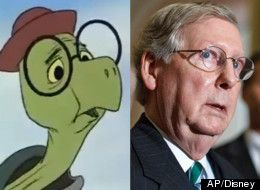 Politicians Who Look Like Disney Characters.