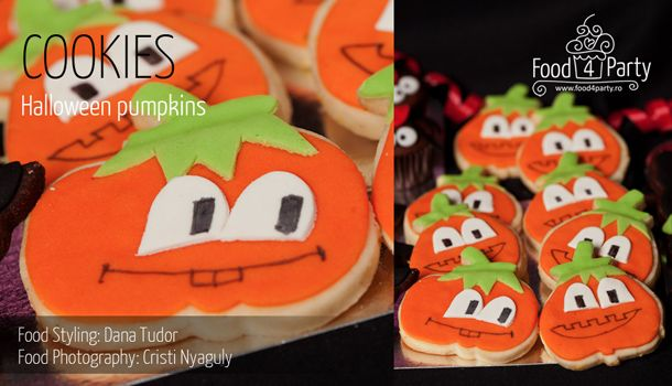 Biscuiti Pumpkins de Halloween | food4party