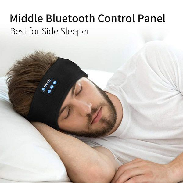 The Ultra Thin Flat Headphone Speakers Are Comfortable Enough To Wear While Lying Down Or Sleeping On Your Side The Sleep Headphones Headphone Gifts Headphone