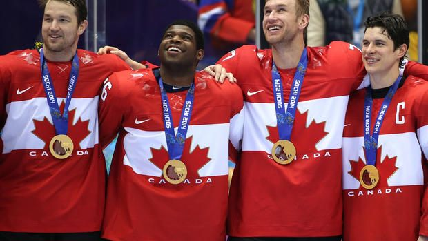 Winter Olympics 2014: Canada destroys Sweden 3-0 for men's hockey gold - CBS News