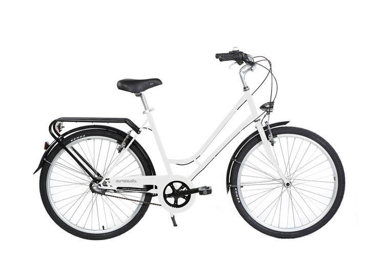 Vélo de Ville Femme Arcade RENAISSANCE - Shimano Nexus 3 V Blanc 2016 | Alltricks.fr