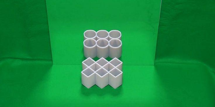 """BINTEO - Η οπτική ψευδαίσθηση που """"έριξε"""" το διαδίκτυο: Τα ορθογώνια μετατρέπονται σε κύκλους μπροστά σε ένα καθρέπτη!"""