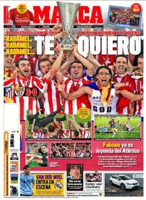 Así llegan las portadas deportivas de este 10 de mayo de 2012: http://www.elenganche.es/prensa