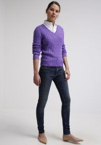 Polo Ralph Lauren - KIMBERLY - Jumper - hyacinth