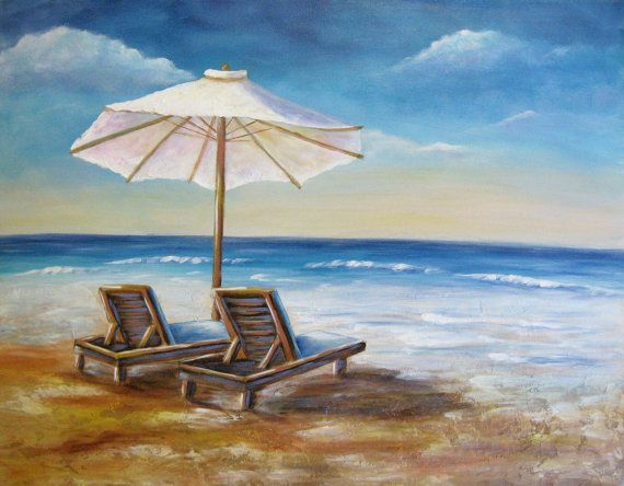 New  Lounging At The Shore an original fine by DianeTrierweiler, $149.99