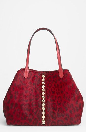 Valentino 'Cavallino - Medium' Calf Hair Tote available at #Nordstrom