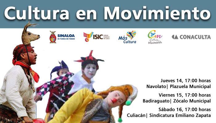 Programación de Cultura en Movimiento. Actividades artísticas multidisciplinarias en tu localidad.