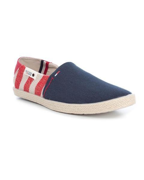Alpargatas Tommy Hilfiger. Modelo Ian 2D. Color azul marino con detalles en rojo y blanco. Suela de goma . Ideales para el verano.   #zapatillas #deportivas #tommyhilfiger #streetstyle