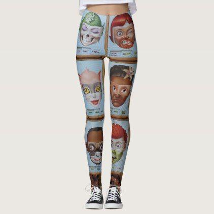 #women - #Mad faces legging