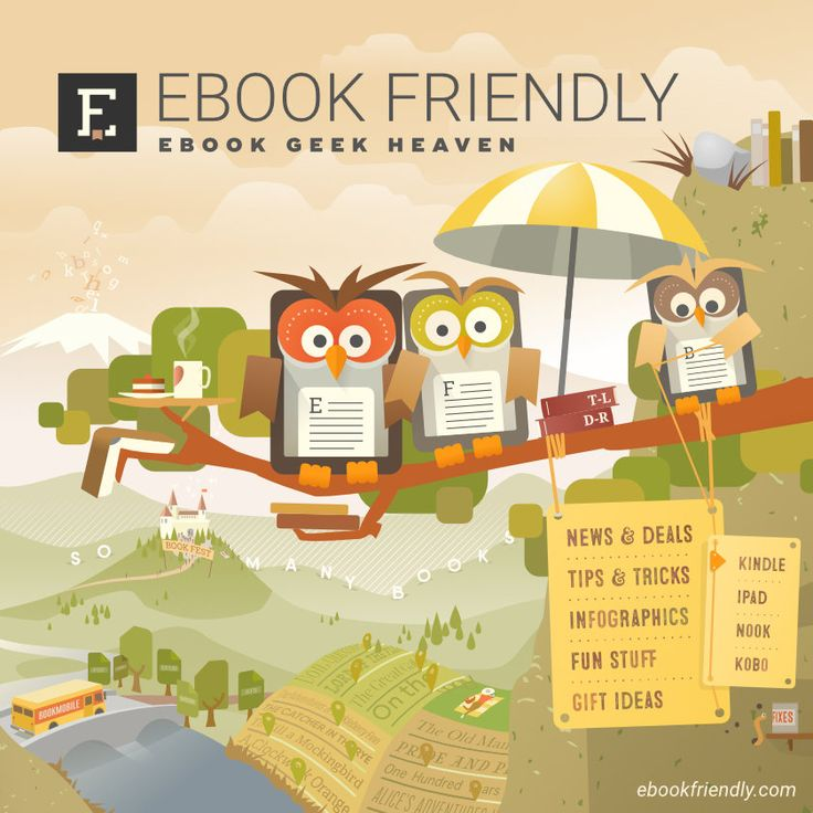 Introducing Friendly Owls - our new guides to ebook geek heaven