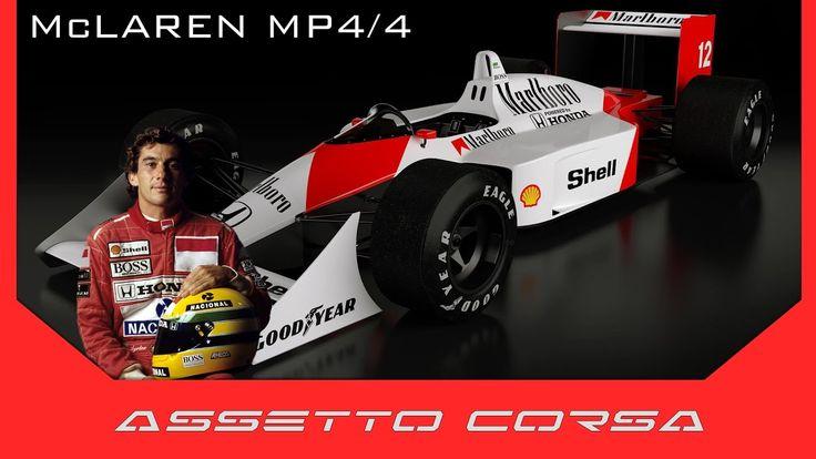Assetto Corsa - Recensione McLaren MP4/4 Ayrton Senna