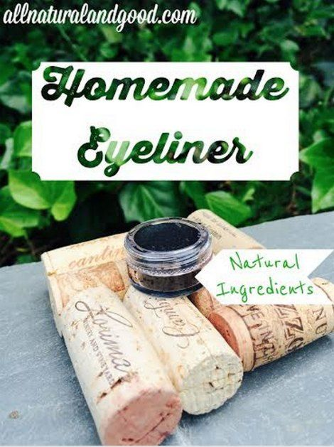 Homemade Natural Eyeliner Tutorial