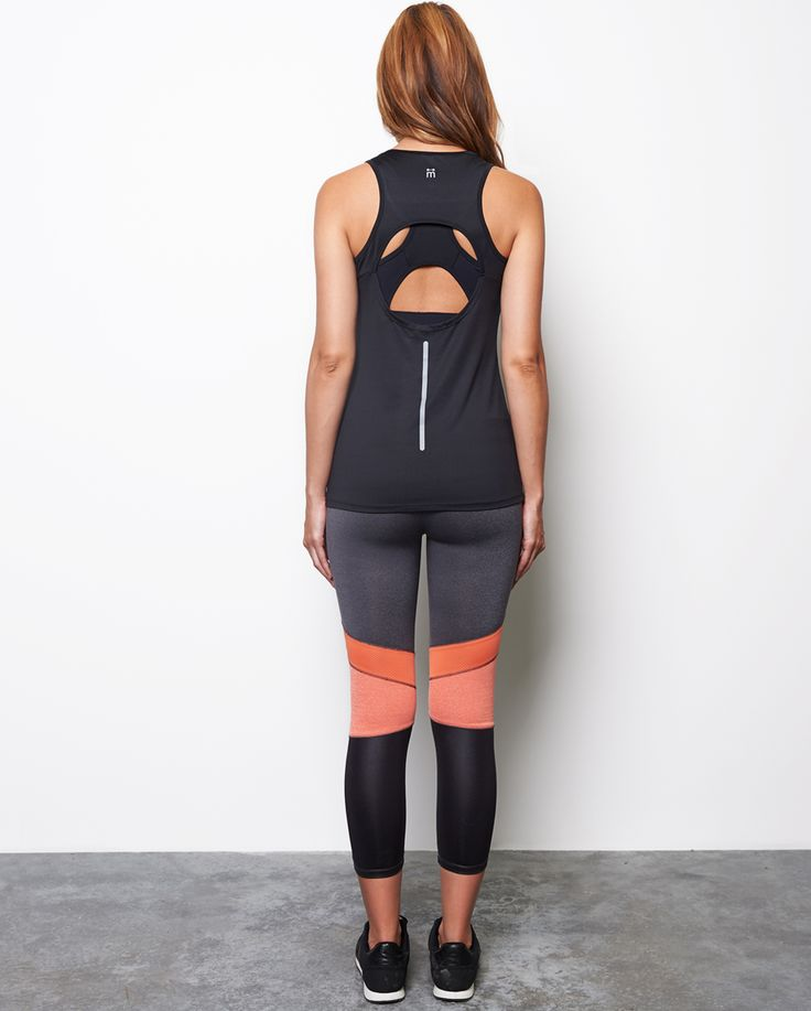 Designed with flattering open back detail to show off your favourite sports bra, the Ada Performance Mesh Tank is a great piece that will take you from the gym to the café, whilst keeping you cool and dry.