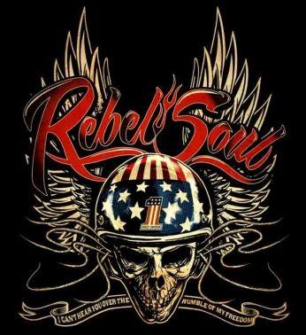 Pôster Harley-Davidson Rebel Soul