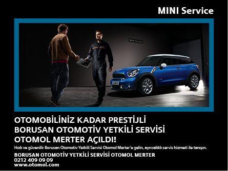 Otomobiliniz Kadar Prestijli Borusan Otomotiv MINI Yetkili Servisi Açıldı!