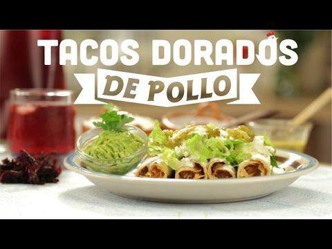 ¿Cómo preparar Tacos Dorados de Pollo?- Cocina Fresca
