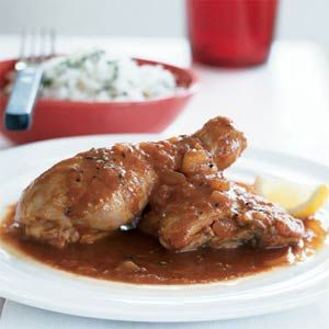 african food recipes | African Chicken in Spicy Red Sauce Recipe