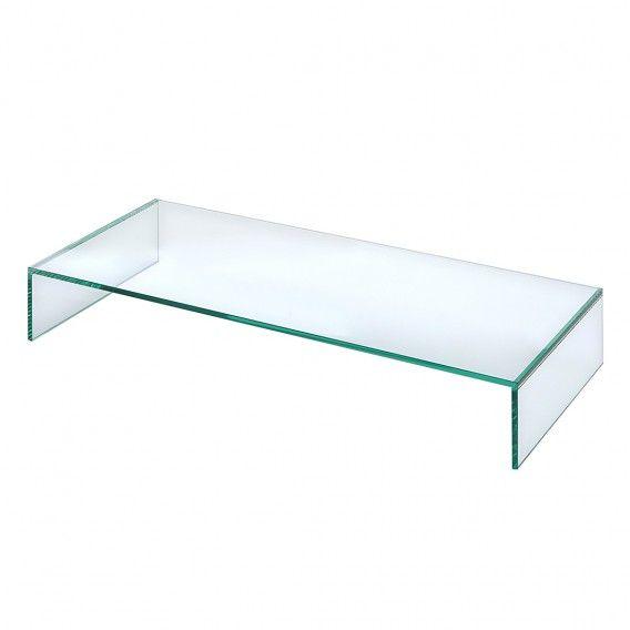 TV-Aufsatz Universal - Glas | Home24