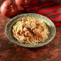 SPAGHETTI BEEF STROGANOFF http://www.sajiansedap.com/mobile/detail/17169/spaghetti-beef-stroganoff