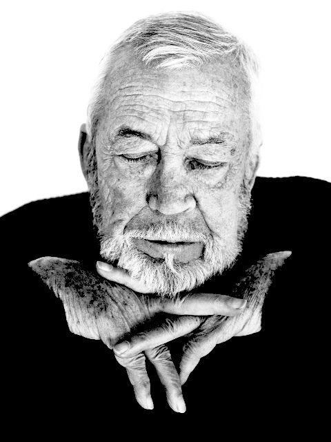 John Huston by Herb Ritts