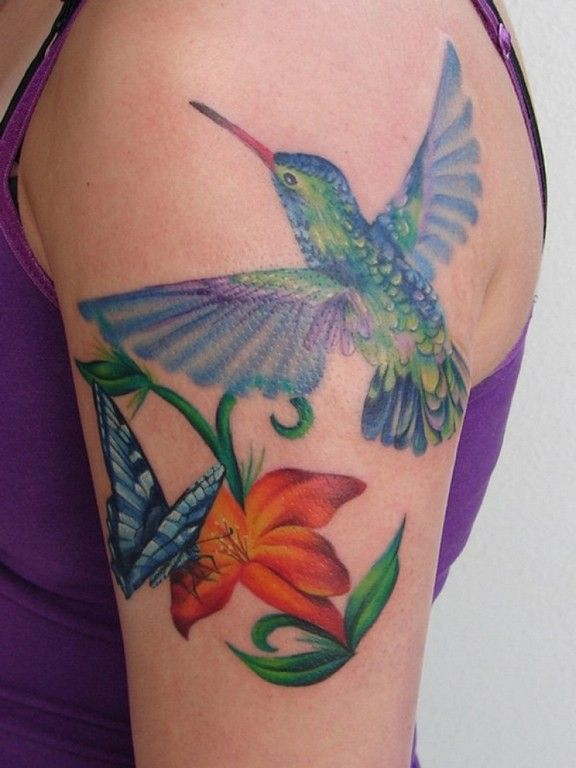 The 25+ best Hummingbird tattoo watercolor ideas on Pinterest ...