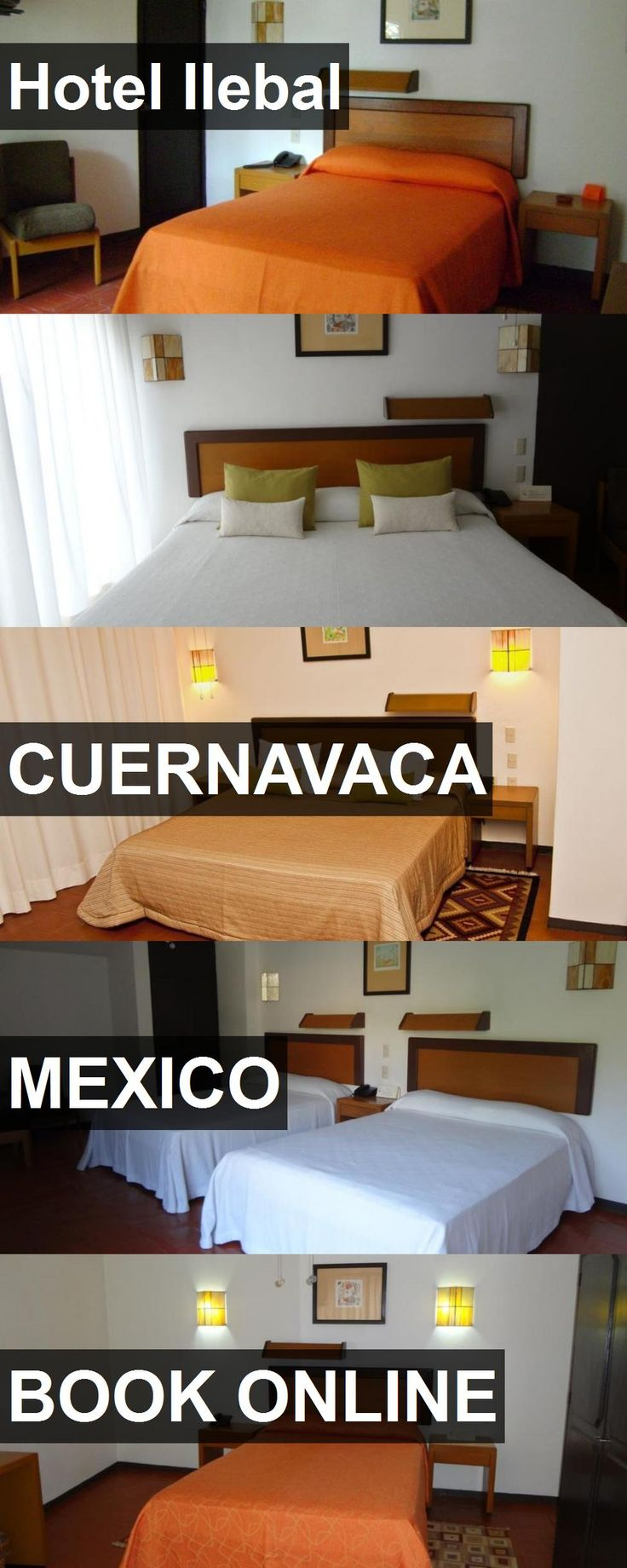 Hotel Ilebal in Cuernavaca, Mexico. For more information, photos, reviews and best prices please follow the link. #Mexico #Cuernavaca #travel #vacation #hotel
