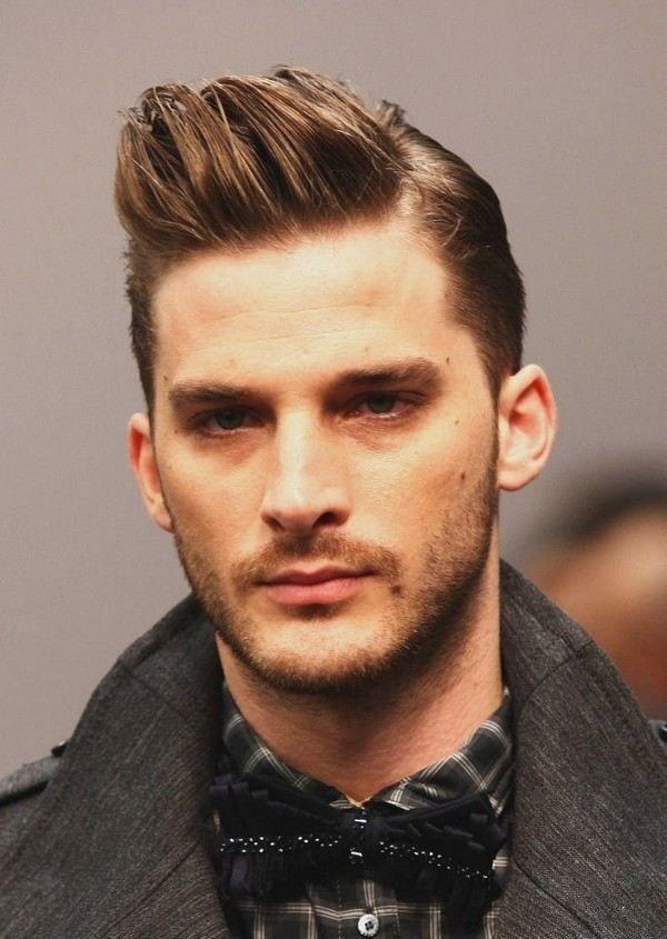 creative short haircut for men