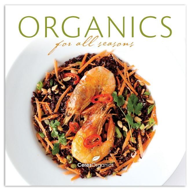!! HIGHLY RECOMMENDED!!             Register for the Ceres 'Organics in your kitchen' club, and receive a welcome pack including the cookbook pictured, and a box of Ceres product samples.                                    SO COOL!!
