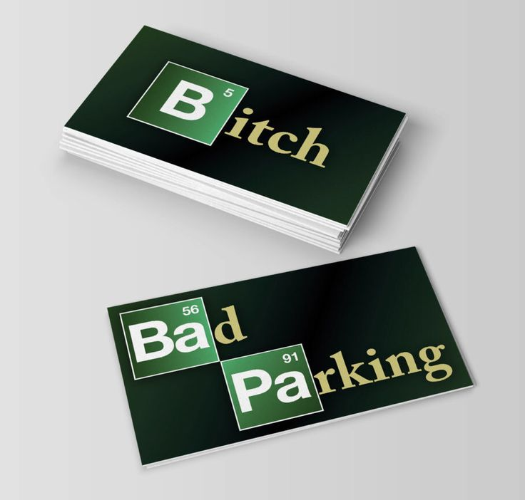 23 best bad parking notes images on Pinterest | Business cards ...