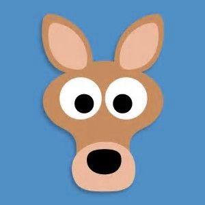 Resultado de imagen de canguro en goma eva