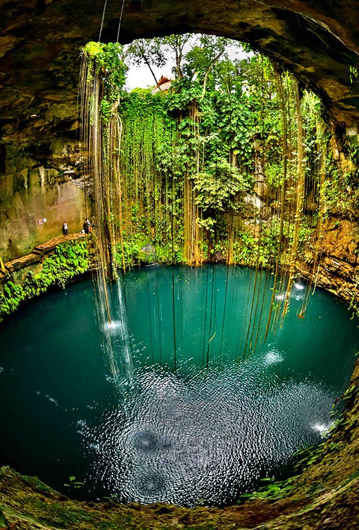 Ik Kil cenote Tourism 2017