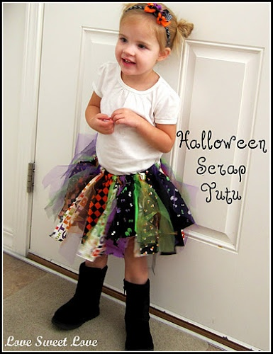 Another fabric scrap tutu tutorial