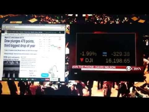 CRISIS El miedo y el pánico era real en el piso del mercado mundial que ...