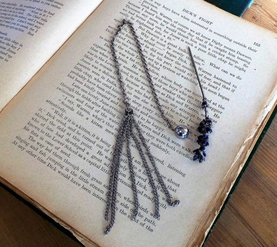 Book Mark with Tassel, Bookmark, Metal Bookmark, Unique Bookmarks, Bookmarks for Books, Book Marks, Custom Bookmarks, Book Lover Gift, Books