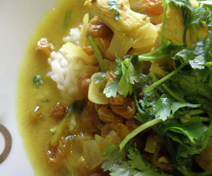 Chicken and Coconut Curry - allergy free