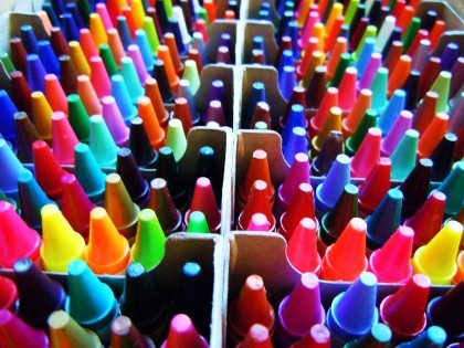 every crayon in the box