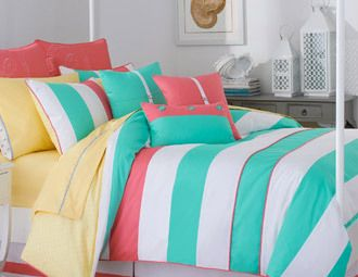 Curl Up in Color - Preppy & Patterned Bedding on Joss and Main