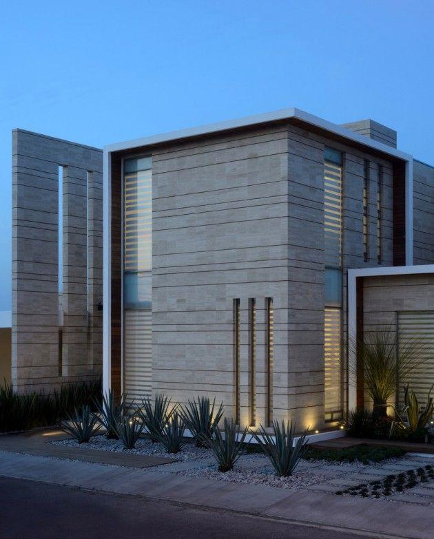 JI Studio have designed the Navona house in Pachuca, Mexico.